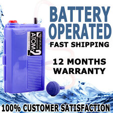 Atman Atom-2 Battery Operated Aquarium Air Pump Fishing Bait or Fish Tank Oxygen