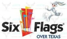 up$42 OFF SIX FLAGS OVER TEXAS & HURRICANE HARBOR TICKETS DISCOUNT PROMO DEALS