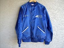 Men's blue Northland Insurance USA made Cardinal trucker coaches jacket large