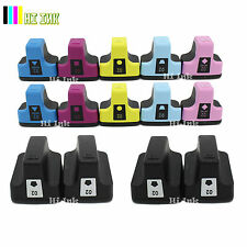 14 Pk 02 Ink Cartridge For HP 02 Photosmart C7280 3310 D7360 D7160 C5180 8250