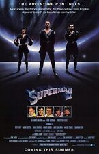 SUPERMAN movie poster (C)  : 11 x 17 inches - GENERAL ZOD, SUPERMAN II