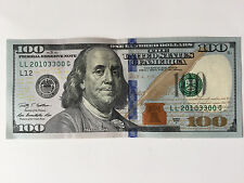 Authentic Crisp Uncirculated Brand New LL EVEN NUMBERS $100 Note Bill US Dollar