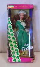 Mattel Irish Barbie Doll Dolls of the World Collection MIB NRFB #12998 1994 s