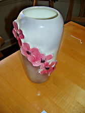 BEAUTIFUL VINTAGE ROYAL COPLEY DOGWOOD FLOWER VASE - great vintage condition