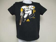 New-Minor Flaw Pittsburgh Pirates Adidas Infant 24 Months Black Shirt