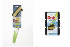 Dishmatic Handle, scourer and Spare Heavy Duty Refills