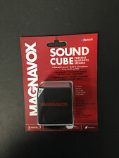 Magnavox Sound Cube Portable Bluetooth Speaker W/ Built-in Microphone