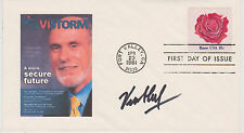 SIGNED VINTON CERF FDC AUTOGRAPHED FIRST DAY COVER GOOGLE FATHER OF THE INTERNET