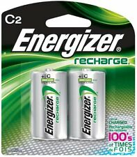 Energizer Rechargeable 2500mAh C Batteries, 2-Pack #NH35BP2