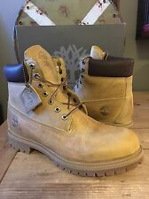 "Mens Timberland Heritage 6"" Premium Boot 27092 Wheat Burnished US 10.5 $190"
