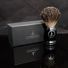 Latherwhip Badger Hair Shaving Brush - Limited Edition - Luxurious Badger Bri...