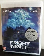FRIGHT NIGHT (1985) Blu Ray/DVD 2-Disc Combo Special Edition RARE SOLD OUT