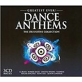 Various Artists - Greatest Ever! Dance Anthems (2012)  3CD Box  NEW  SPEEDYPOST
