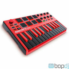 Akai MPK Mini Mk2 - MIDI USB Controller Keyboard - MPKMINI MkII RED Ltd Edition