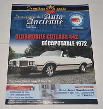 LE MAGAZINE DE L'AUTO ANCIENNE FRENCH FEVRIER 2004 OLDSMOBILE CUTLASS 442 1972