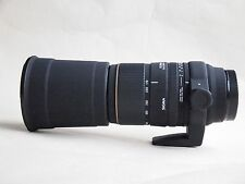 SONY MINOLTA  FIT Sigma APO DG 170-500mm F/5-6.3 Lens  + HOOD + CAPS + CASE