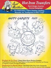 Happy Gadgets Aunt Martha's DOW Hot Iron Embroidery Transfer #3929
