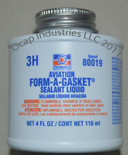 Permatex 80019 Aviation Form-A-Gasket Sealant Liquid 4 oz