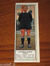 *PACIFICO CUMAN NAPOLI=FIGURINA=1966/67=ALBUM FIGURINE CALCIATORI TEMPO