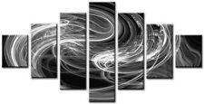 7 Panel Total Size 160x90cm Large Canvas Wall Digital Art Print SLINGKY