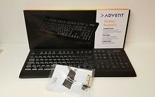 Advent AKBWL15 Wireless keyboard With Nano Receiver Vista/7/8/10 MAC OSX