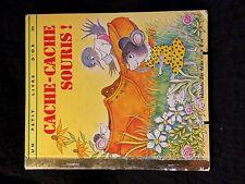 Un petit livre d'or - Cache cache souris ! (104R16)