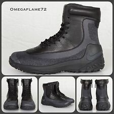 Womens Sz 6 Nike Zoom Kynsi Jacquard 806978-001 ACG Waterproof Winter Boot Black