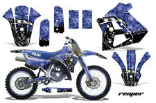 YAMAHA WR 250Z Graphic Kit AMR Racing # Plates Decal Sticker Part 91-93 RPBL