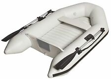 """New Leftover Mercury Inflatable D607 AirFloor 6'7"""" Gray PVC Boat Dinghy Tender"""
