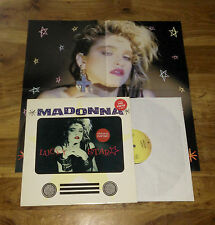 "Madonna - Lucky Star 12"" UK Limited Edition + Poster RARE!  (not promo)"