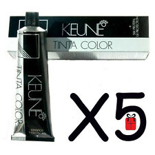 Keune Tinta Hair Color Dye - ( Pack of 5 ) Choose Your Colors - Free Shipping