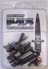 BRICKARMS BLADE Pack 2016 for Lego Minifigures 12 pieces Limited Edition NEW