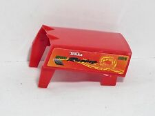 """Tonka SPEED RACING 254 Red Plastic Truck Topper Replacement Piece 3"""" x 3"""" EUC"""