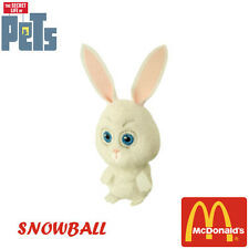 The Secret Life of Pets McDonald's Happy Meal TURKEY NEW AUGUST 2016 SNOWBALL