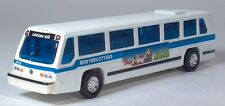 "ED GMC RTS-II 04 06 New York City Bus Fairy Tale Shing Fat 6"" Model Pull Back"