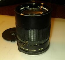Vivitar 135 mm 1:2.8 Auto Telephoto lens w/caps Product No. 28919108
