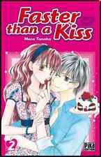 Manga Faster Than A Kiss Tome 2 Shojo Meca Tanaka Neuf Pika 2013 Koko's Debut