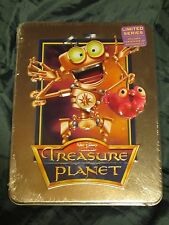 TREASURE PLANET Disney DVD in Collectible 3D Tin Limited Edition NEW & SEALED