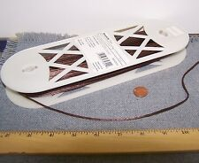 """36 yards 1/8"""" Rattail Brown Cord Trim Sewing Fabric Craft Embellishment"""