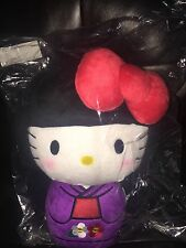 RARE Hello Kitty Los Angeles Large Plush JANM Japanese American National Museum