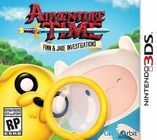 Adventure Time: Finn and Jake Investigations (Nintendo 3DS, 2015) New Sealed