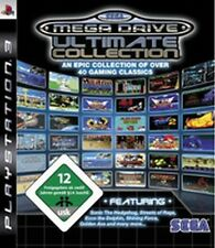 PlayStation 3 Sega Mega Drive Ultimate Collection 40 juegos Megadrive como nuevo