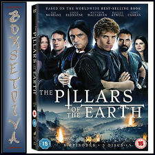 THE PILLARS OF THE EARTH - MINI SERIES *BRAND NEW DVD*