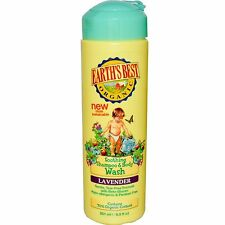 Earth's Best Baby Lavender 2-in-1 Shampoo and Body Wash