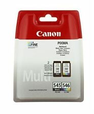Genuine Original Canon PG545 Black & CL546 Colour Ink Cartridge MG2450 MG2550 BN