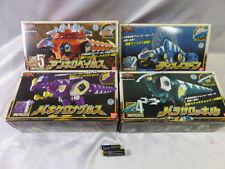 Power Rangers Dino Thunder Cephalozord Dimetrozord Ankylozord Parasauzord 4set
