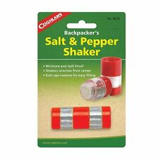 Coghlan's Backpacker & Camping Salt & Pepper Shaker - Moisture Proof
