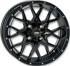 ITP HURRICANE 14X7 4/110 5 2 BLACK PART#  1428636536B