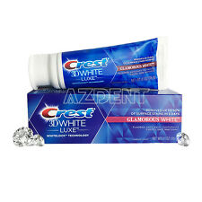 Crest Brand LUXE 3D White TEETH WHITENING VIBRANT MINT TOOTHPASTE 4.1oz 116g