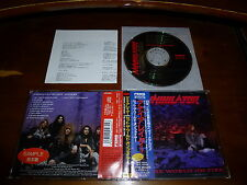 Annihilator / Set the World on Fire JAPAN+1 APCY-8070 PROMO 1ST PRESS!!!!! *M